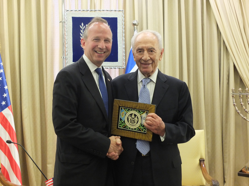Delaware Governor Works to Strengthen Ties With Israel